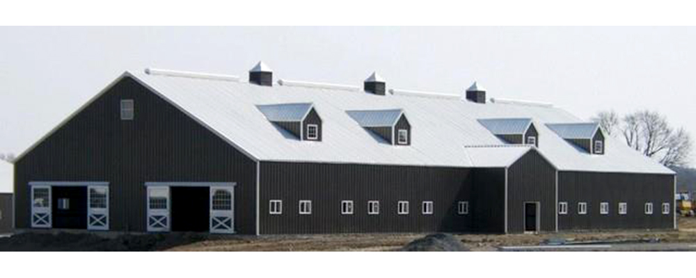 Steel Barn by Dennis Lounsbury Builders